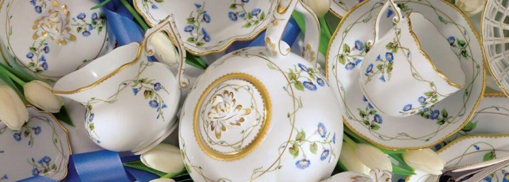 Porcelana Herend z Budapesztu
