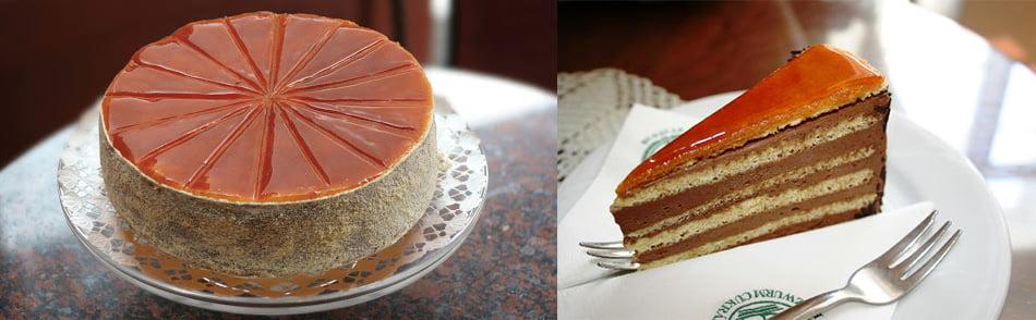 co zjeść w Budapeszcie tort donos