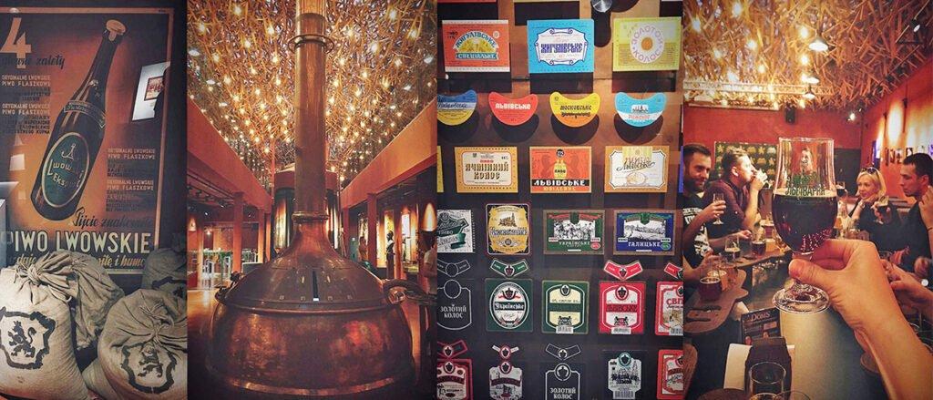 czego spróbować we Lwowie muzeum piwa we Lwowie