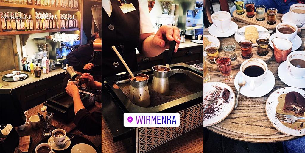 czego spróbować we Lwowie parzenie kawy w winmence