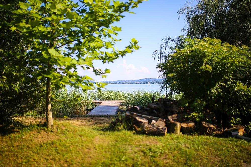 tihany w czerwcu jezioro balaton