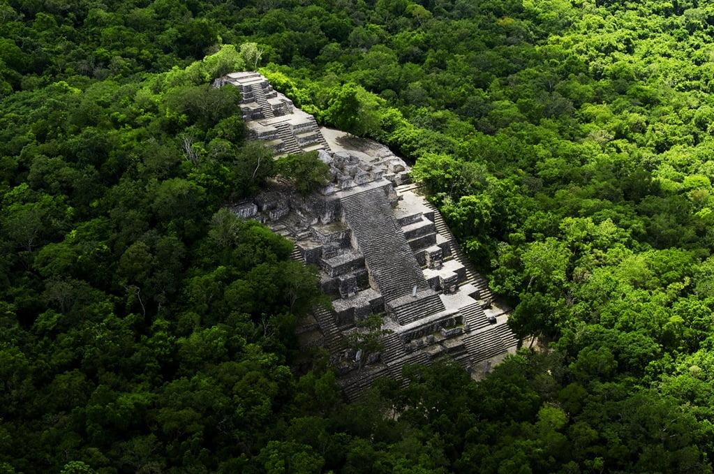 Ruiny miasta Calakumul